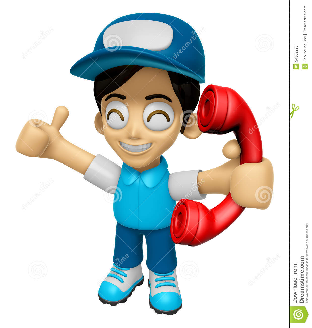 3d delivery service man mascot please call me today work for Character designer job