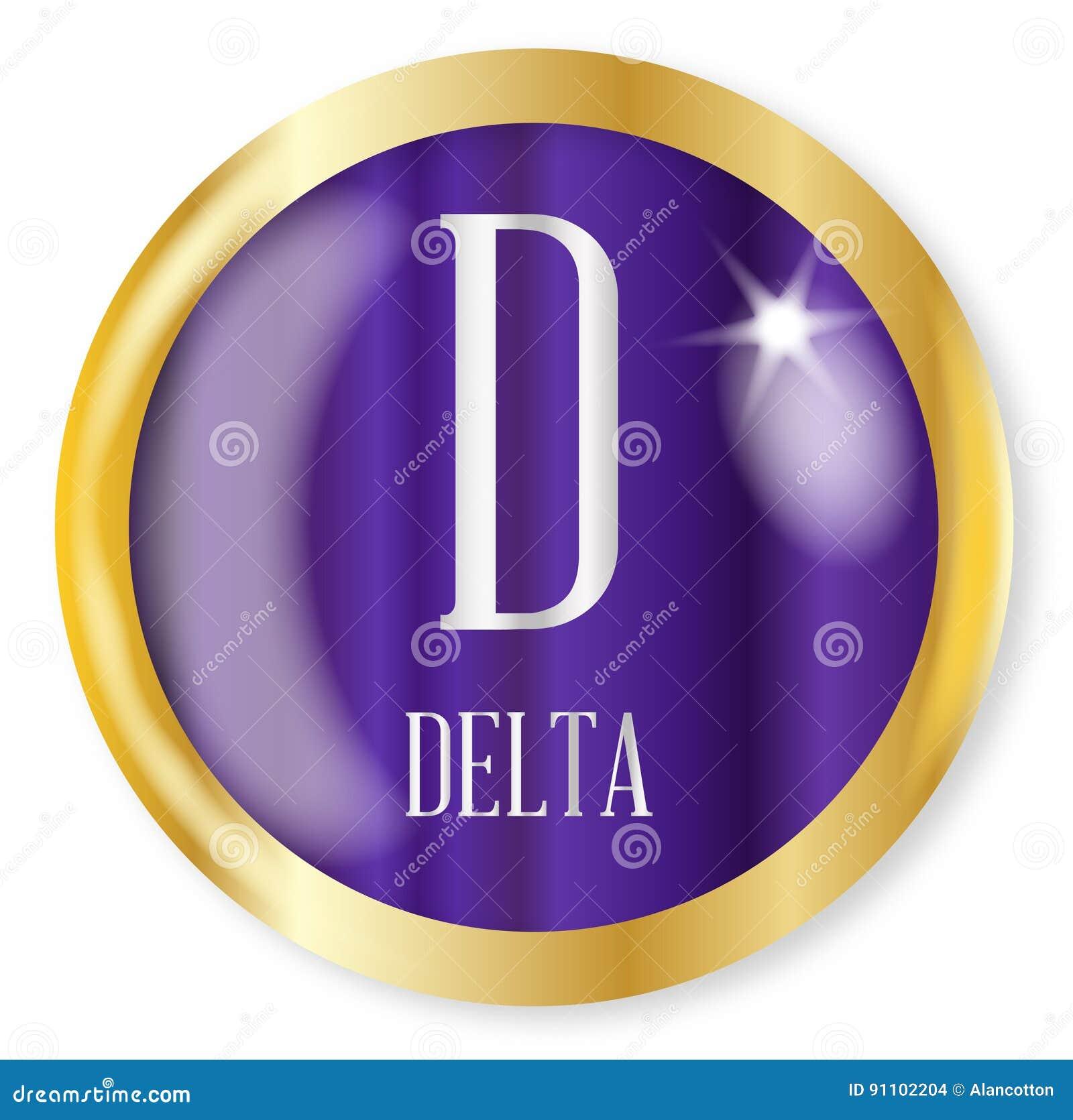 D For Delta Stock Vector Illustration Of Element Background 91102204