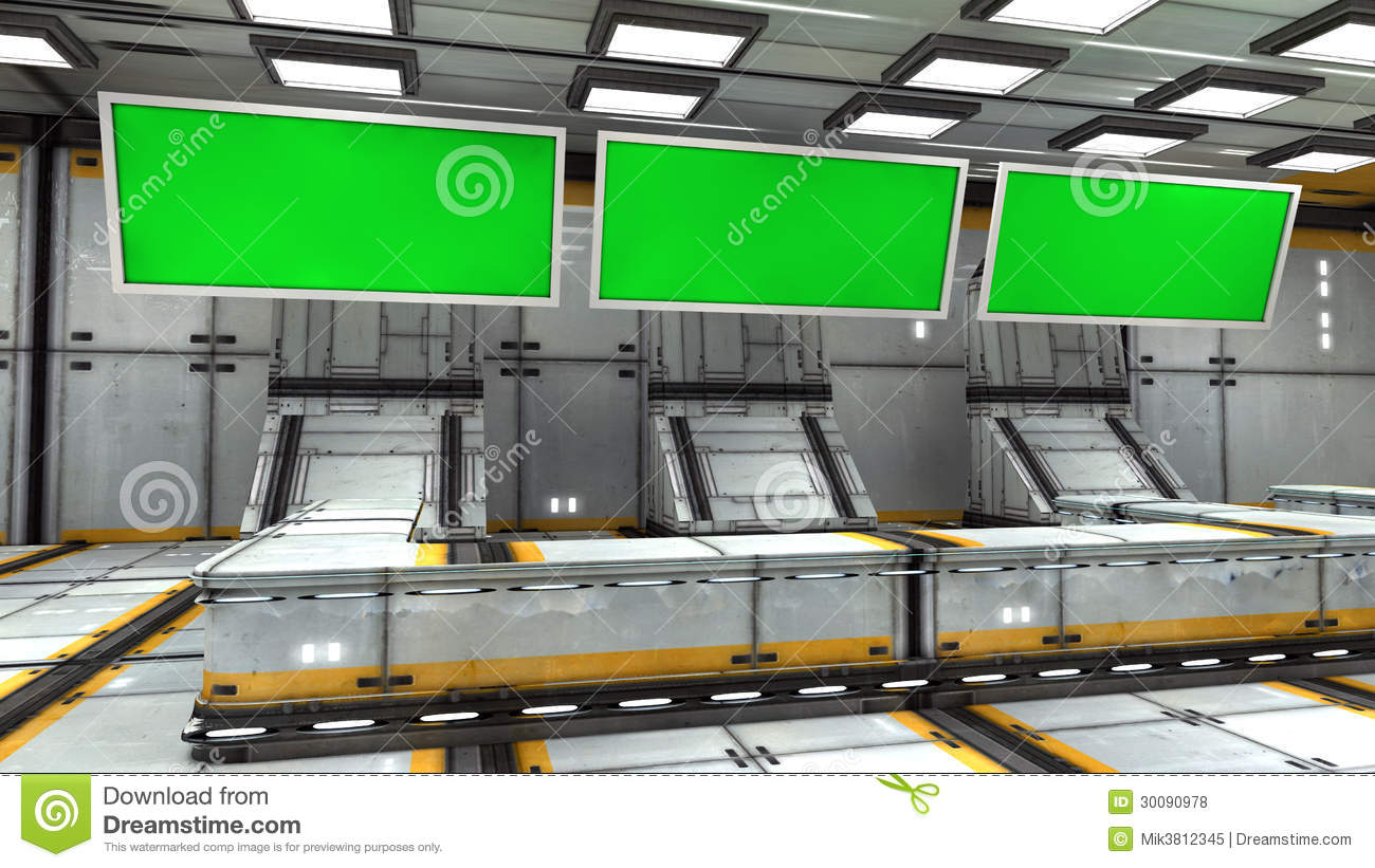 futuristic 3d green screen royalty free stock photos image 30090978. Black Bedroom Furniture Sets. Home Design Ideas