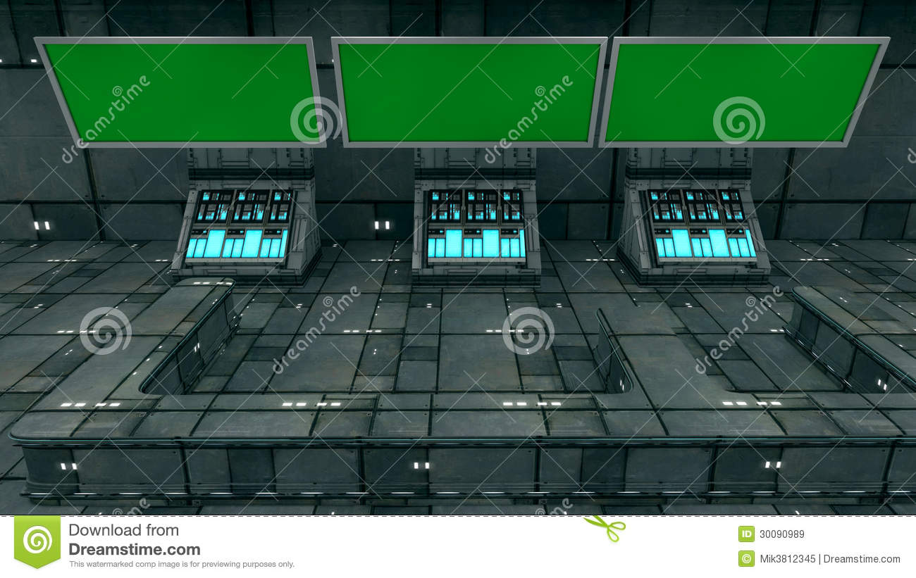futuristic 3d green screen royalty free stock images image 30090989. Black Bedroom Furniture Sets. Home Design Ideas