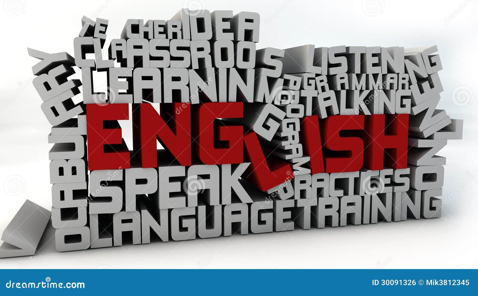 Learn English Stock Illustration Illustration Of Student 30091326