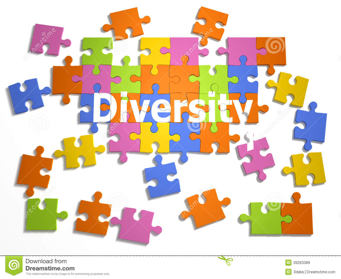 3d diversity jigsaw stock illustration image of problem diversity clipart job functions diversity clip art for senior exercise