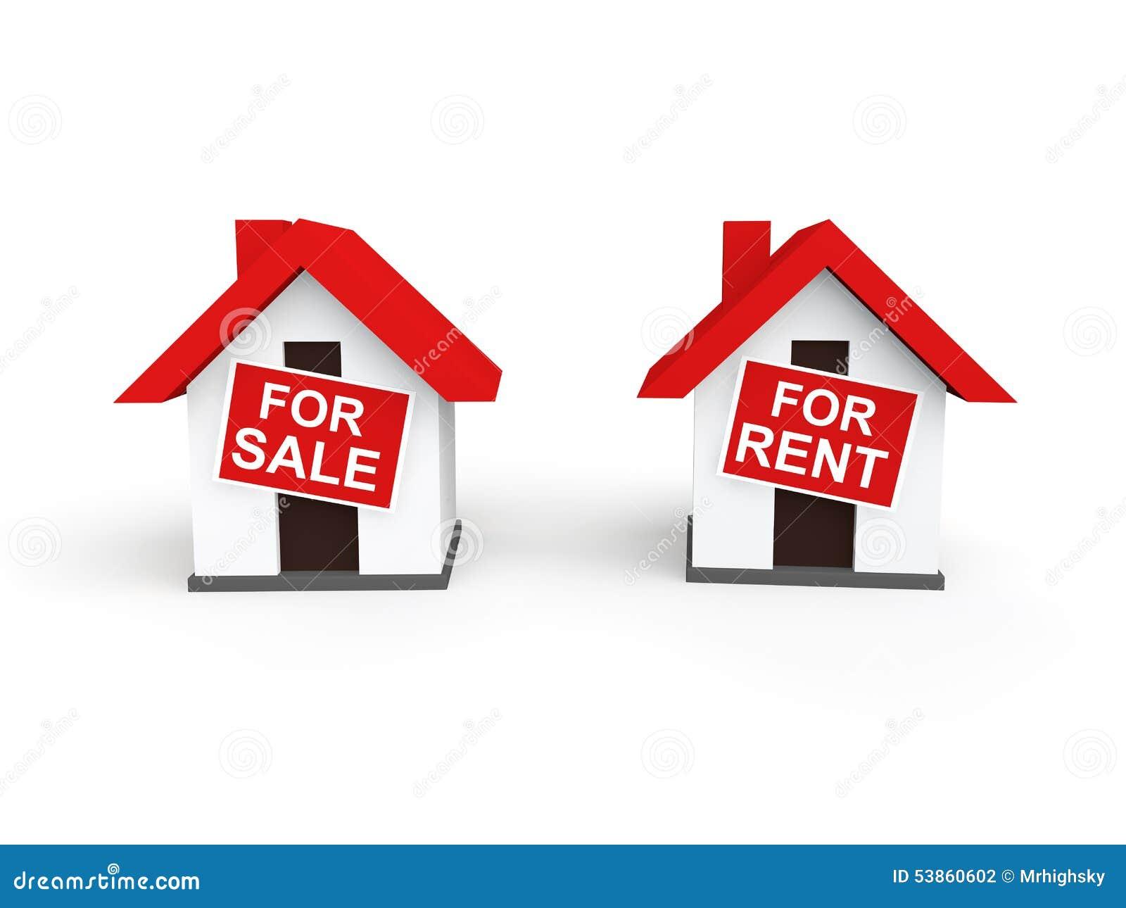 3d domy dla sprzedaży i czynszu