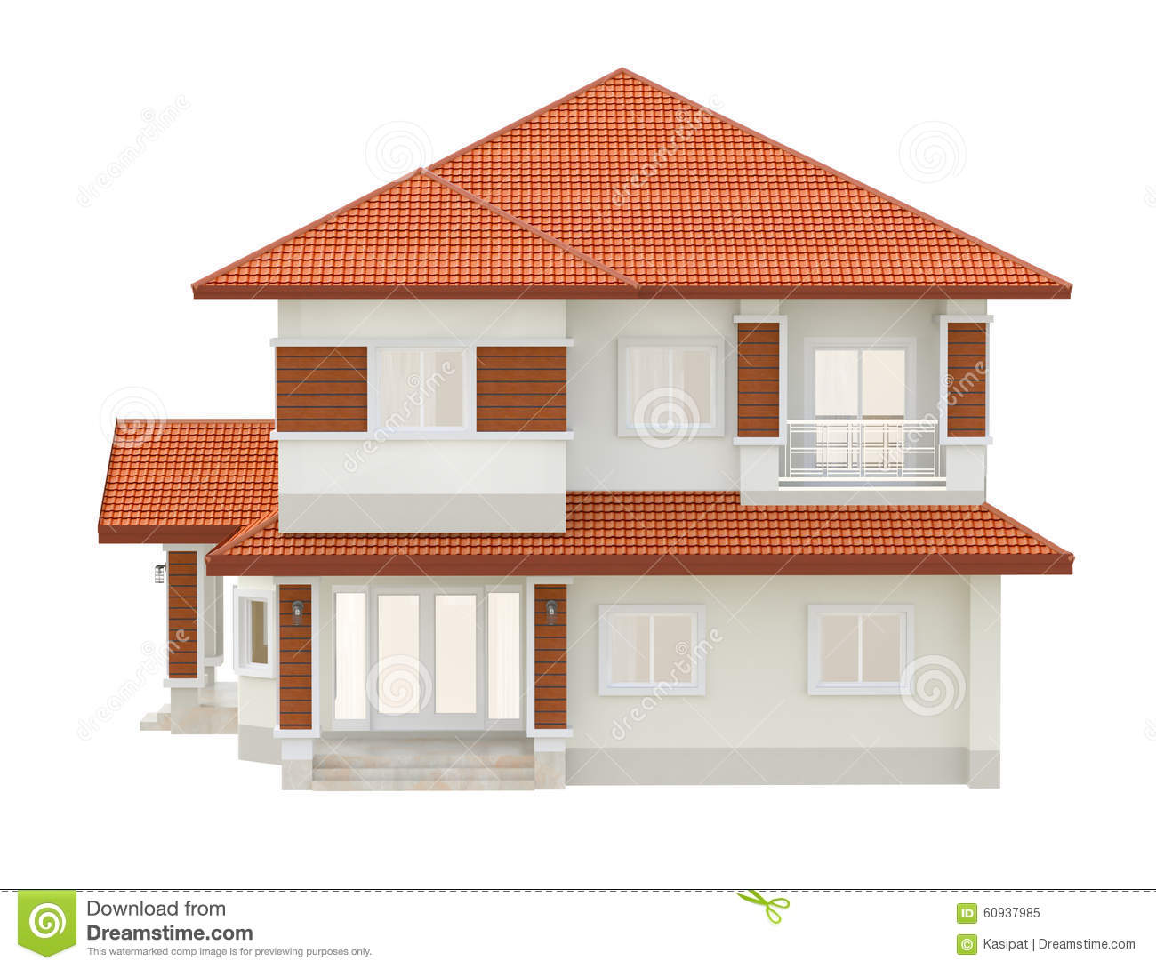3d drawing design stock illustration image 60937985 3d house drawing