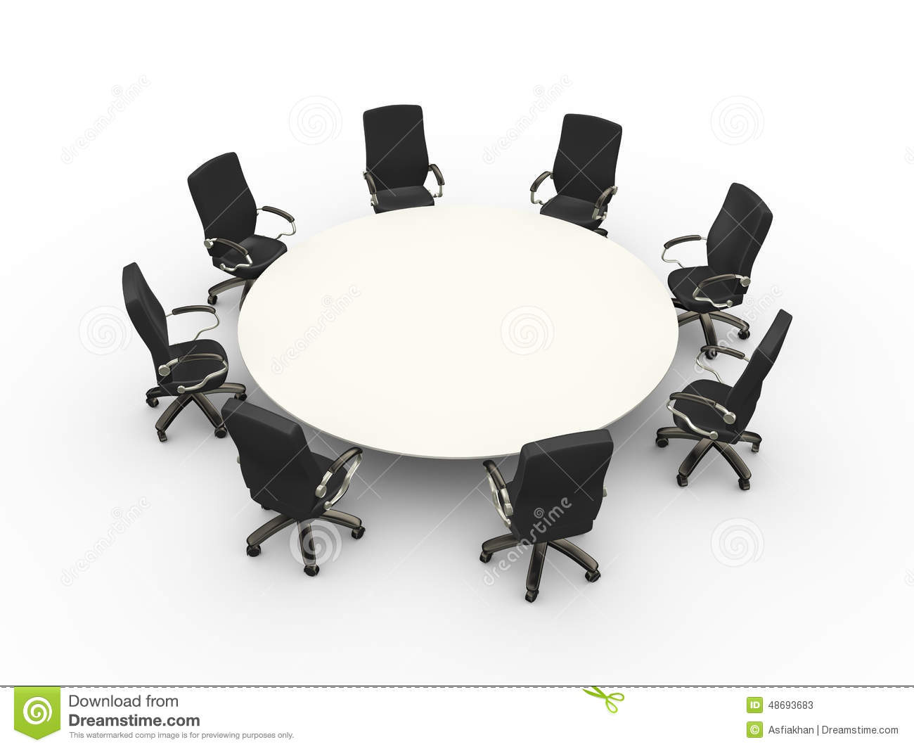 Swell 3D Empty Chairs Table Conference Meeting Room Stock Pdpeps Interior Chair Design Pdpepsorg
