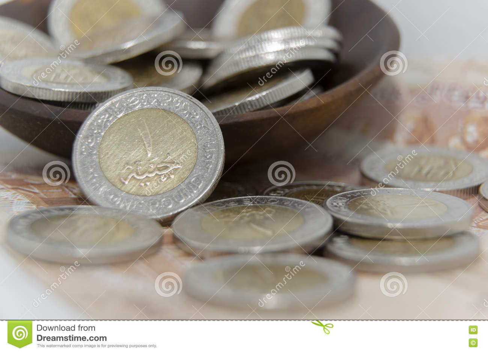 D Or Et Argentez Les Pieces De Monnaie 1 En Metal De Livre