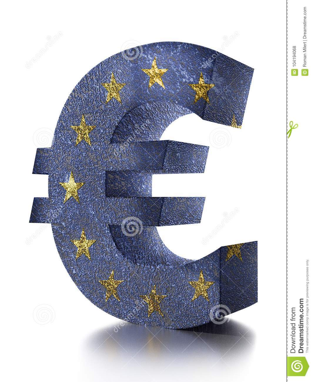 3d euro currency symbol stock illustration illustration of 3d euro currency symbol biocorpaavc Images