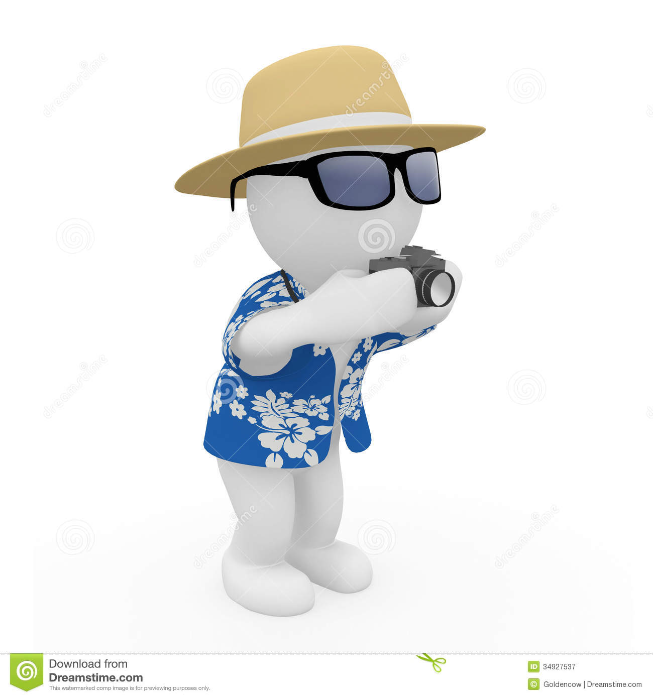 3D Figure Holiday Royalty Free Stock graphy Image