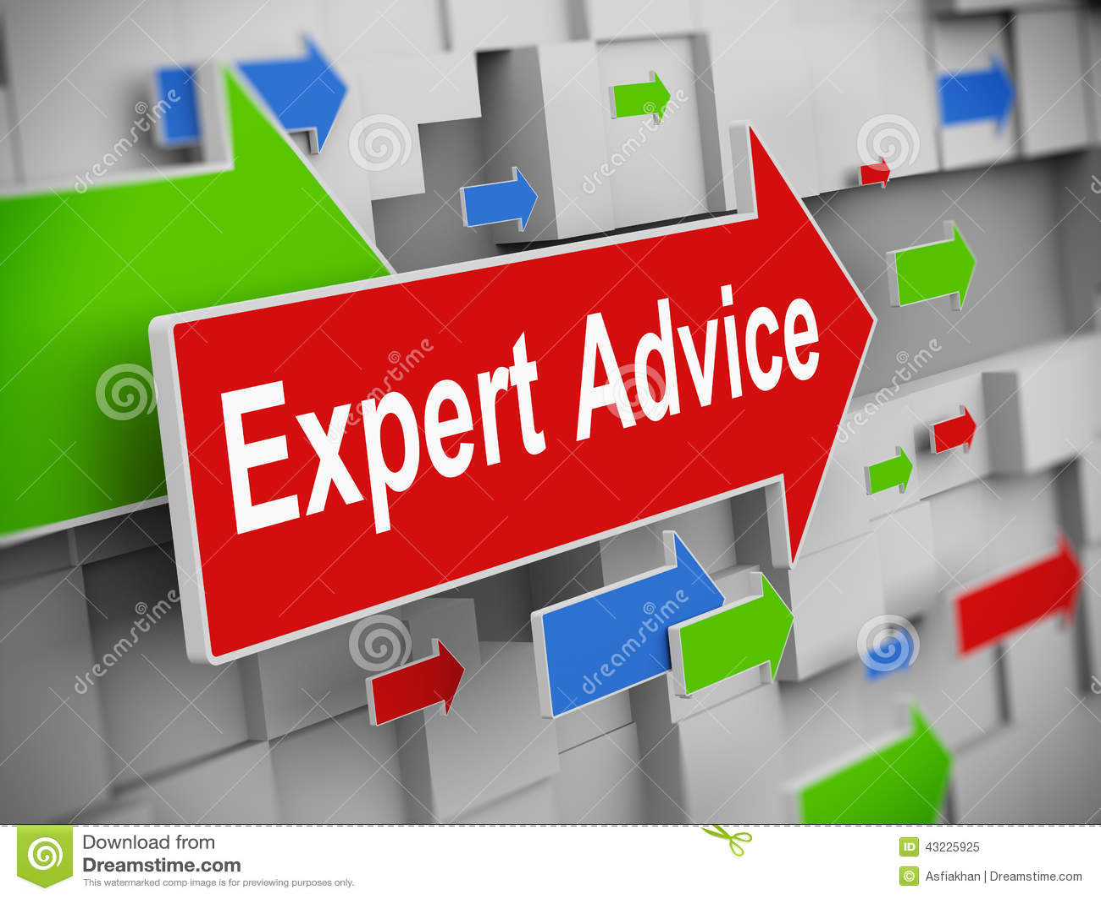 3d flecha móvil - asesoramiento de experto