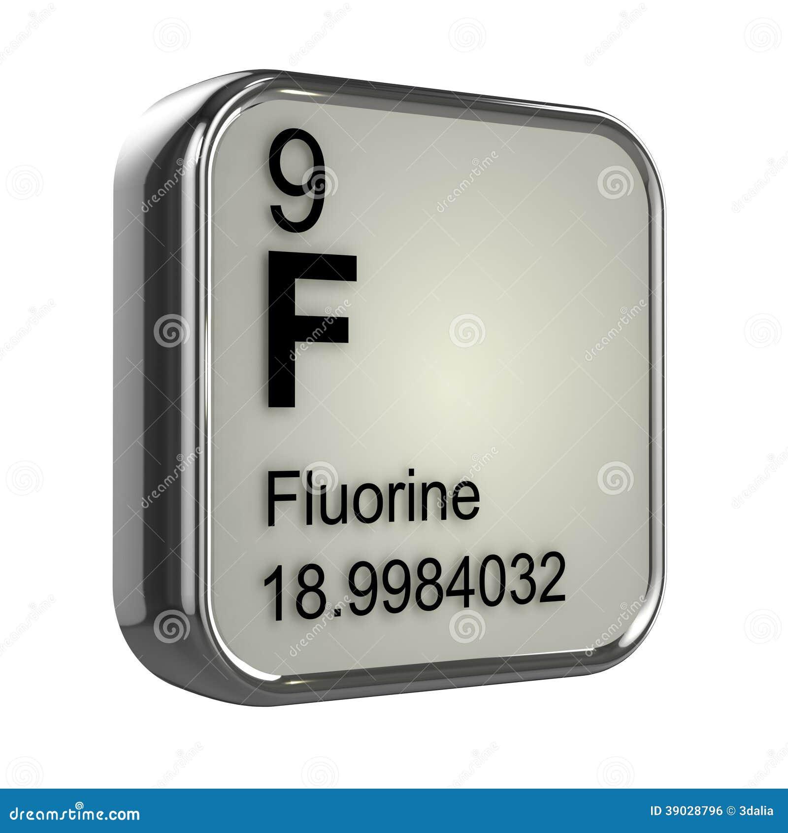 3d fluorine element stock illustration image of table 39028796 royalty free stock photo gamestrikefo Gallery