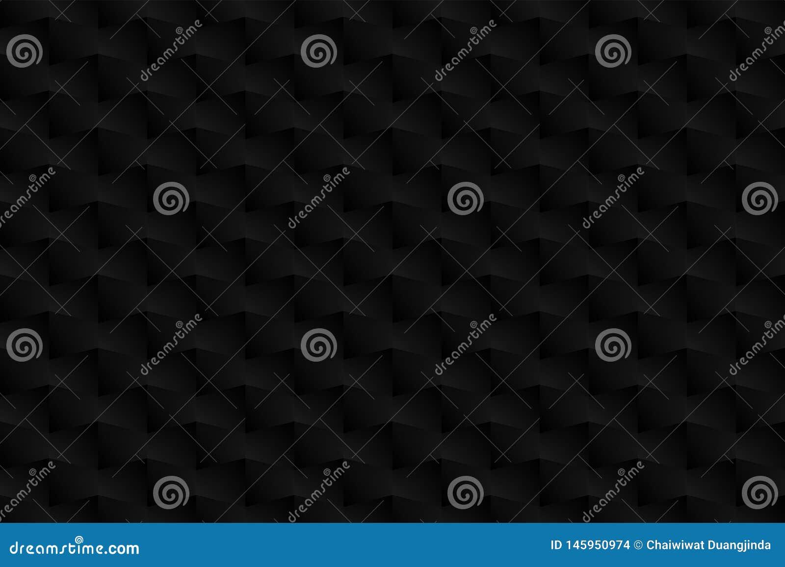 3D Form, Muster, Schattenfarbe, schwarz, grau als Hintergrund, abstrakt