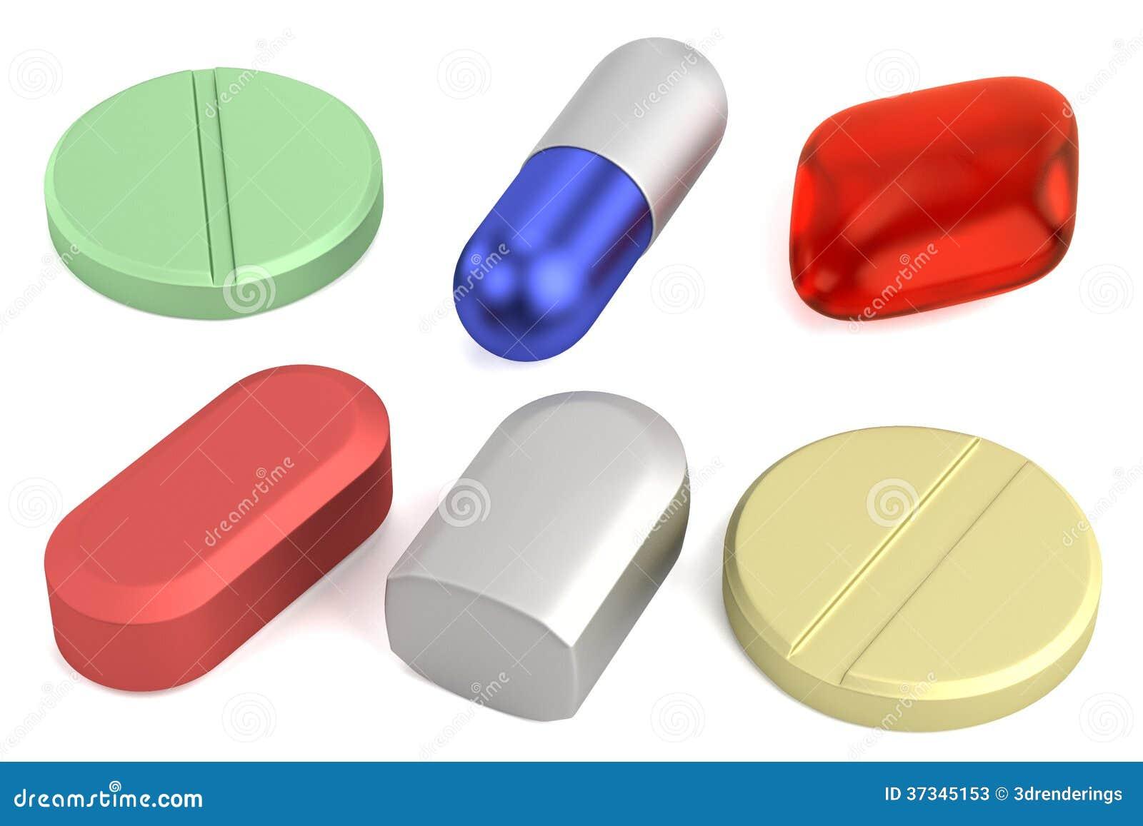 3d framför av preventivpillerar
