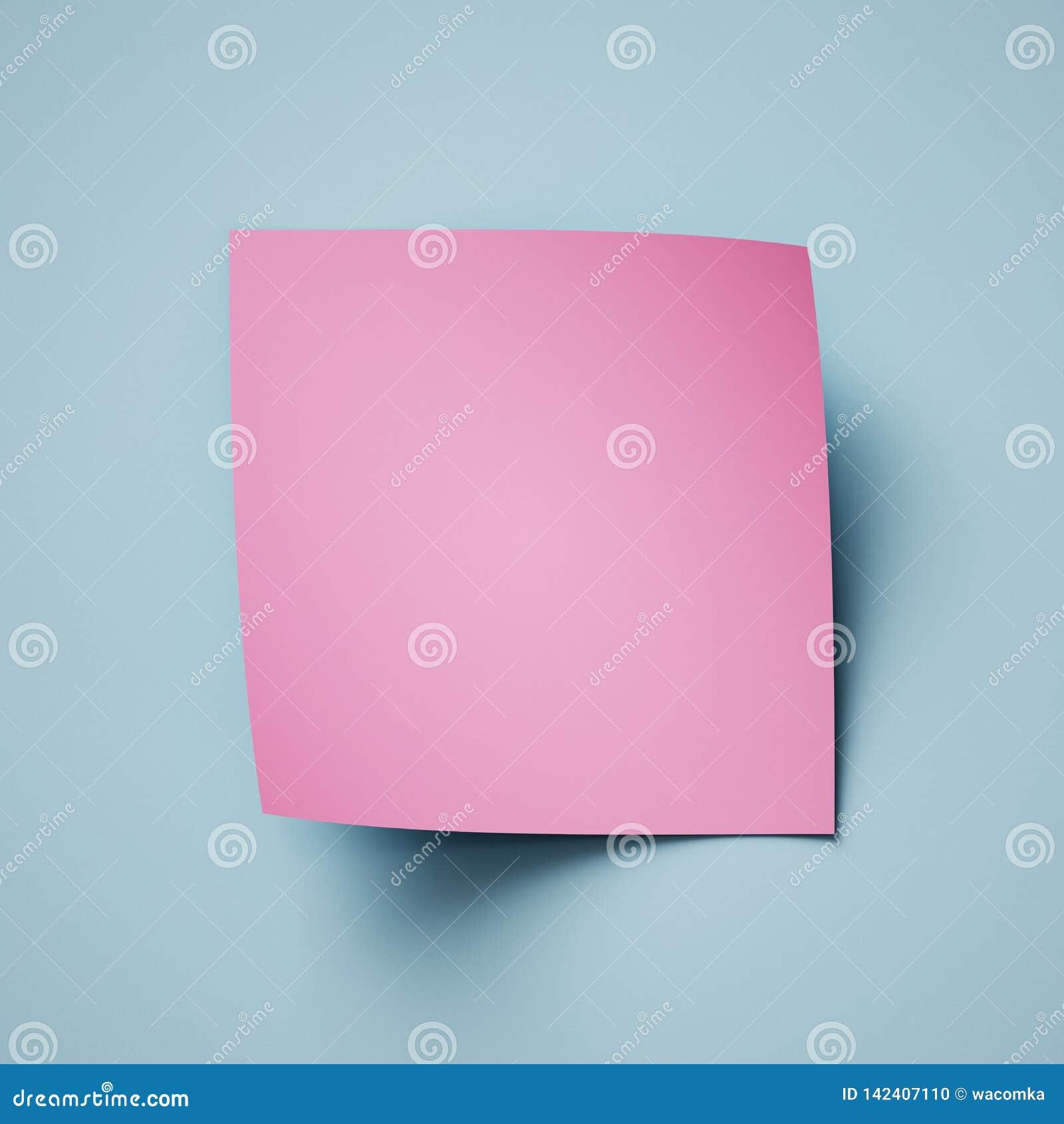 3d framför, rosa blå abstrakt pappers- bakgrund, sidakrullningen, det krullade hörnet, den idérika moderna banermodellen, designb