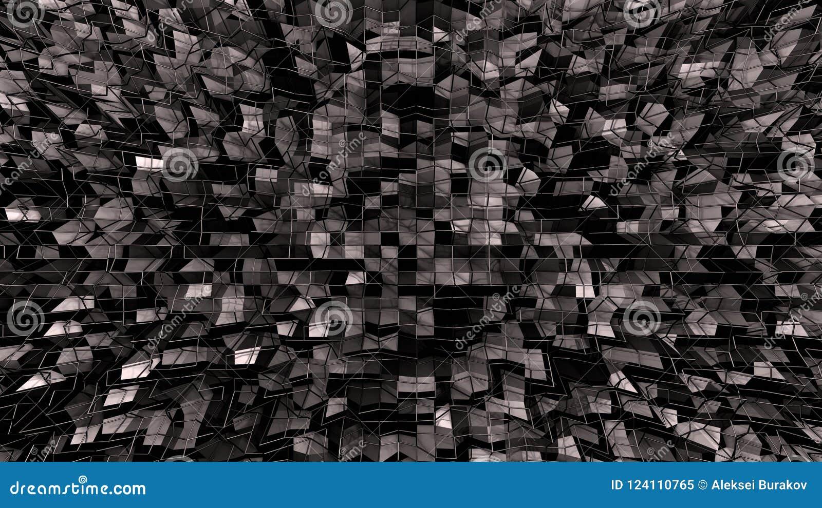 3d geef van abstracte geometrische achtergrond met moderne gradiëntkleuren in lage polystijl terug 3d oppervlakte met aardige gra