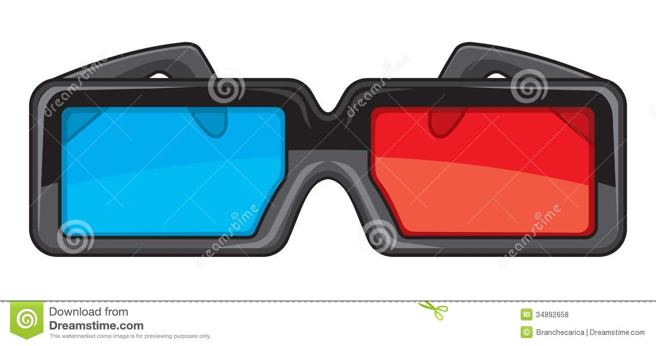 3D Glasses Royalty Free Stock Photos - Image: 34892658