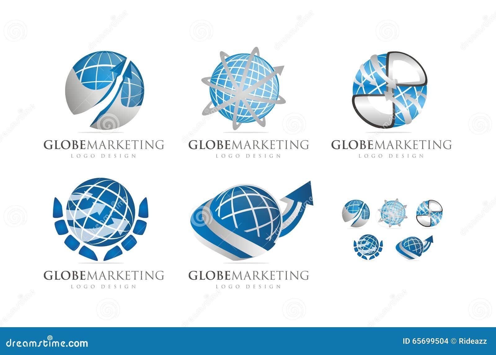 3d globe logo design wwwpixsharkcom images galleries