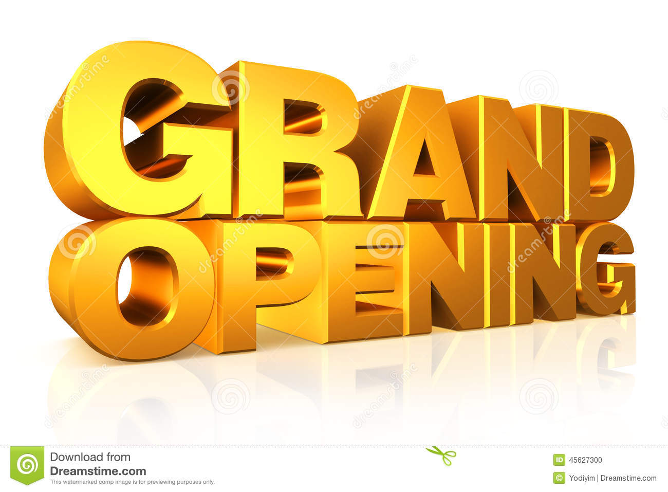Powered By Articlems From Articletrader California Secretary Of State - 3d gold text grand opening