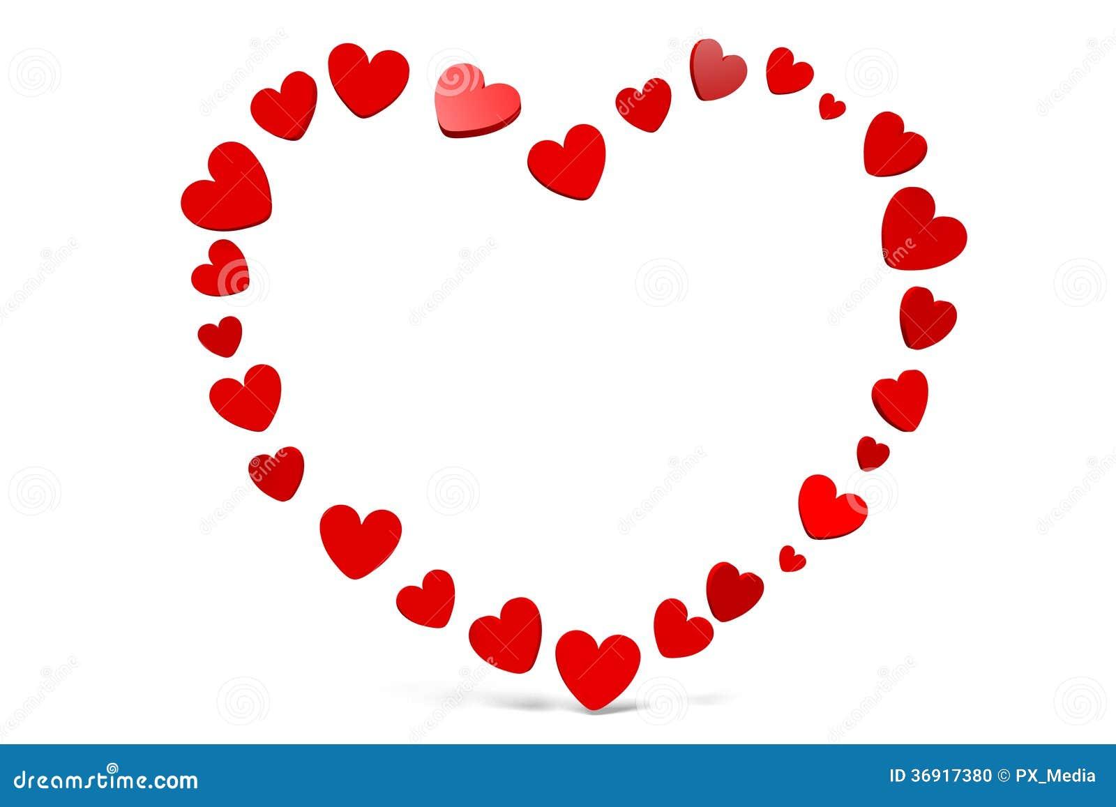 Februar Herzen, Glückliche Valentinsgrüße!