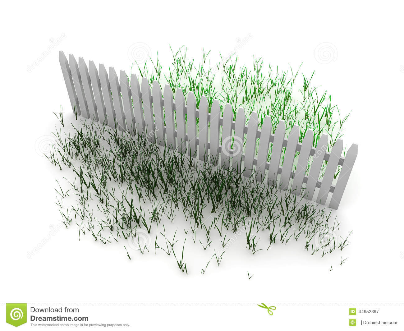 grass is greener concept