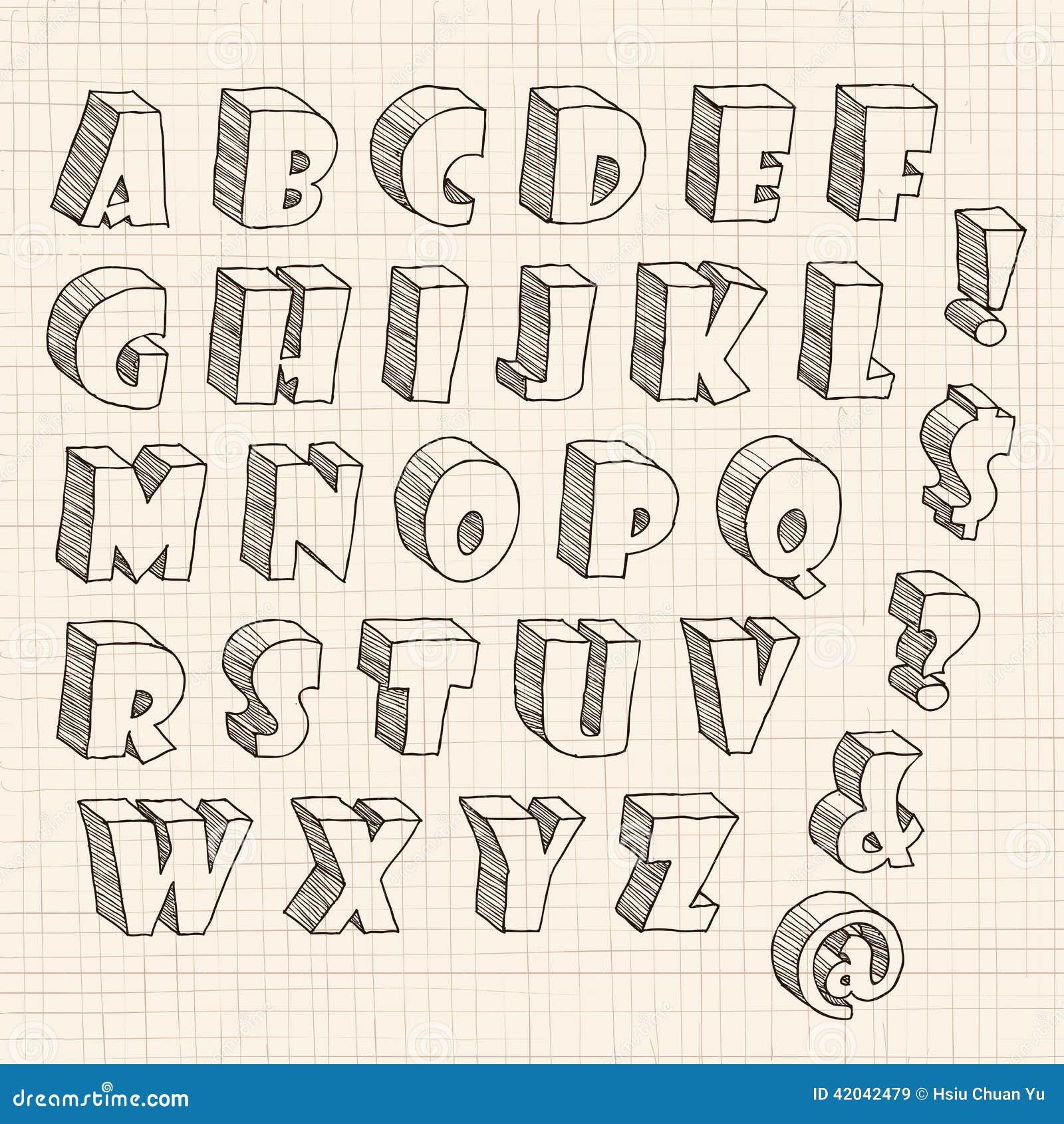 Объёмные буквы своими руками нарисовать