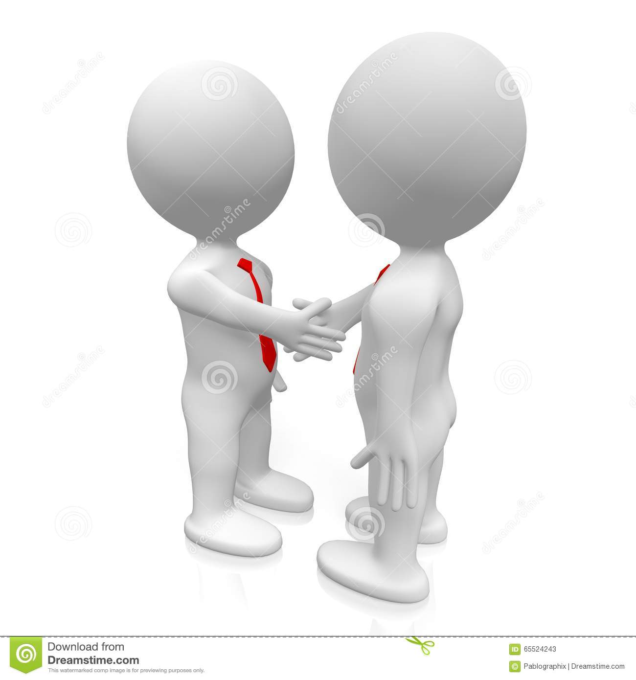 3d handshake  deal concept stock illustration two thumbs up clipart free Thumbs Up Sign Clip Art