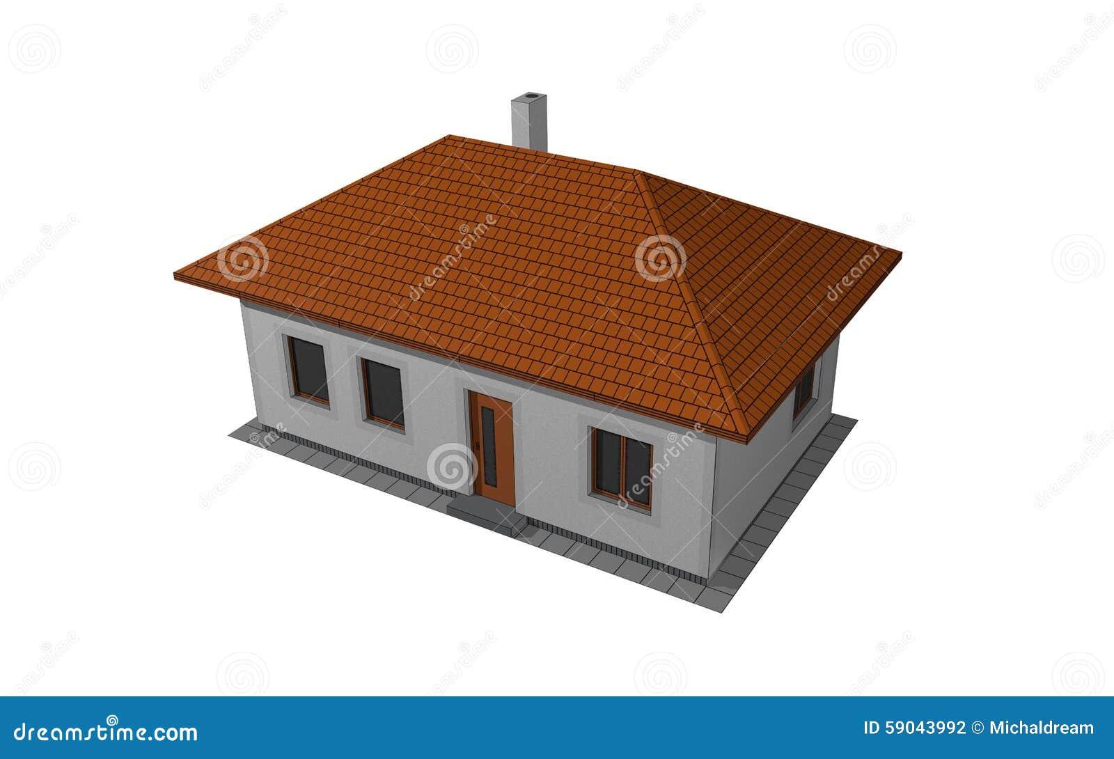 Haus dimensional