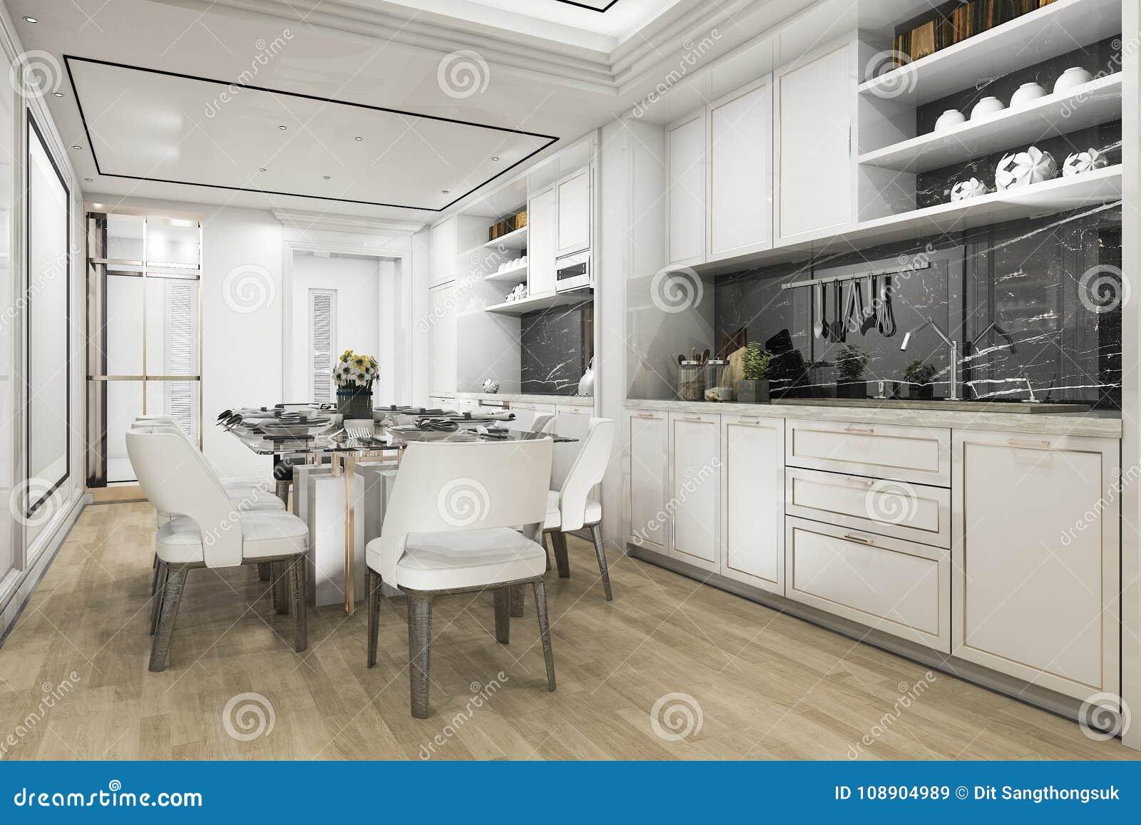 Mooie Witte Keuken : Mooie witte keuken stockfoto s freeimages