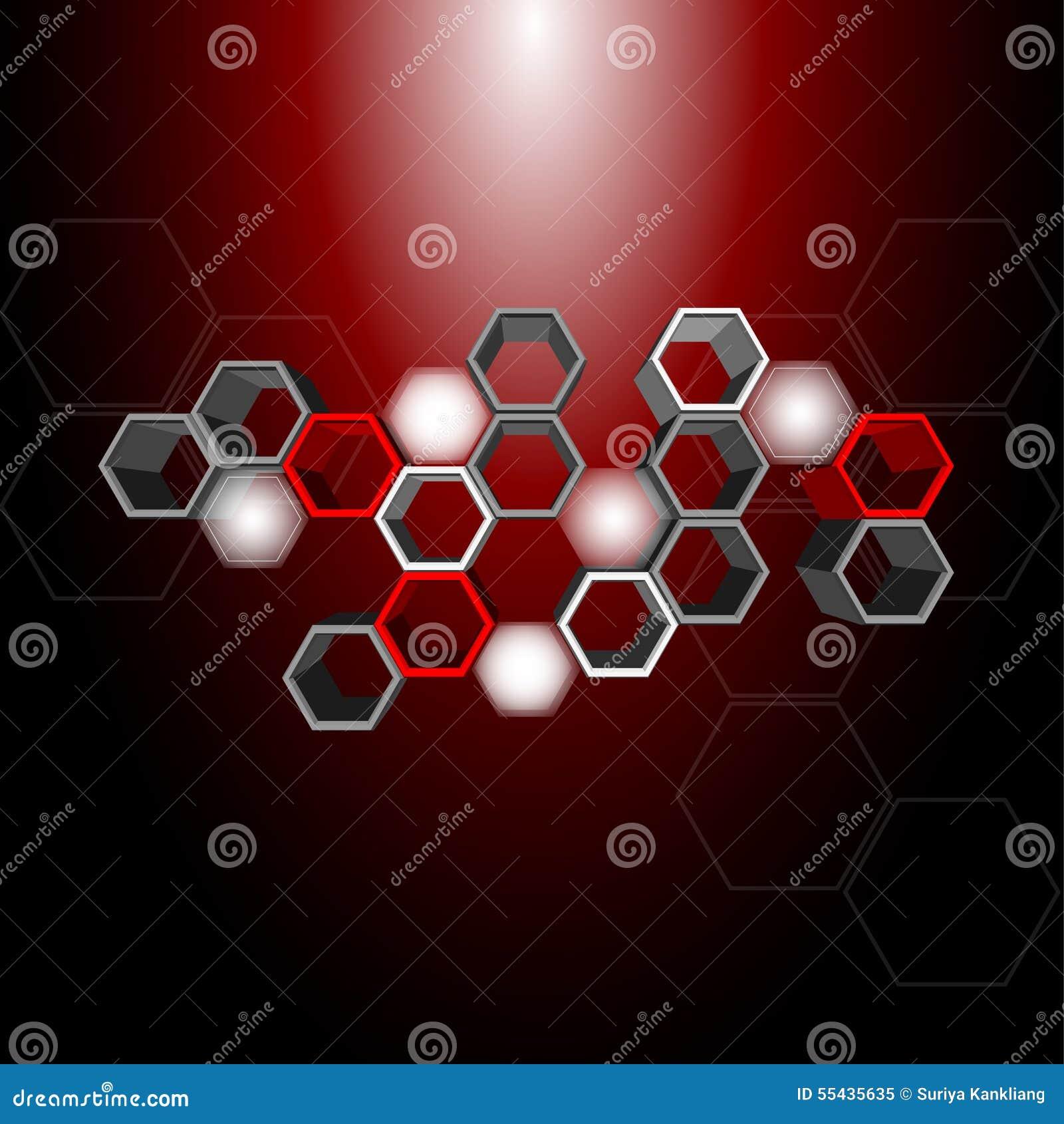 3d hexagon pattern stock vector image 54997696 - 3d Hexagon Pattern Royalty Free Stock Photo