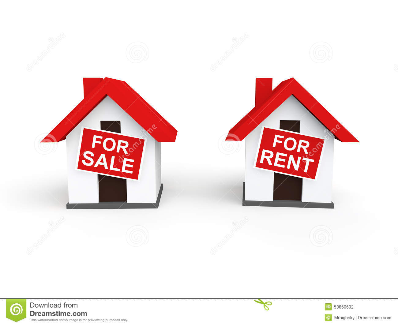 rented houses for sale