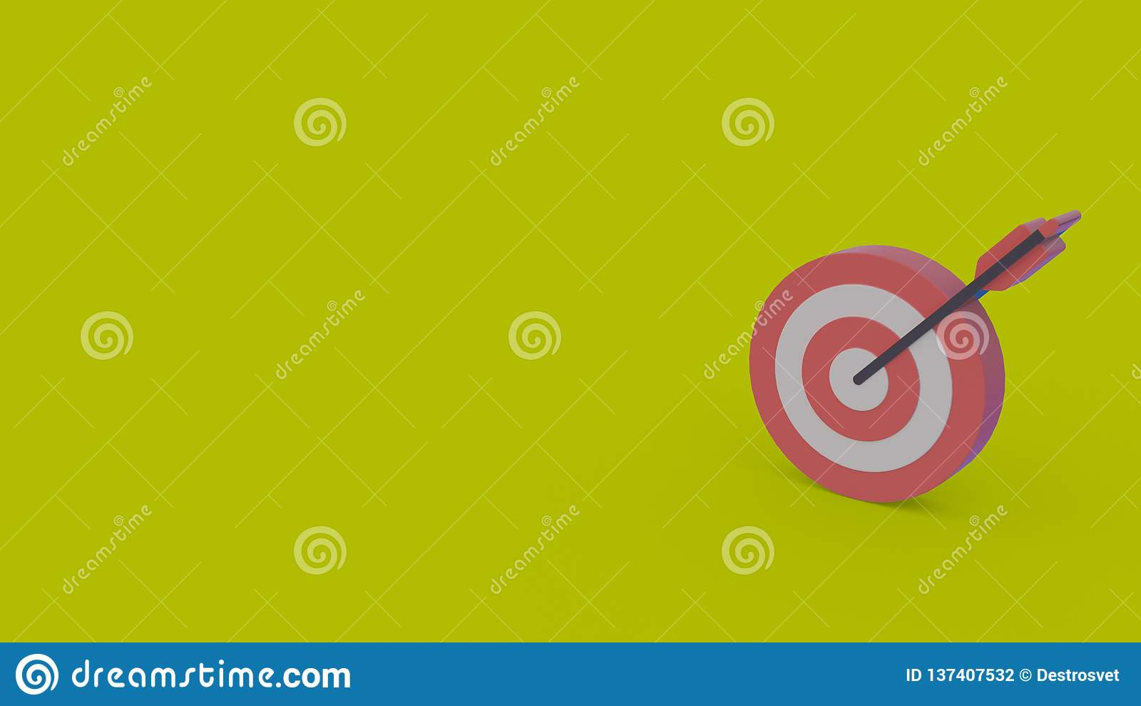 3d icon of dart board