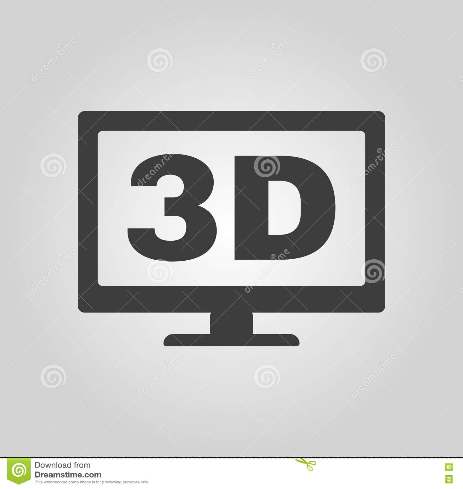 D Symbol On Tv 3d Tv Logo Pixshark Images Galleries