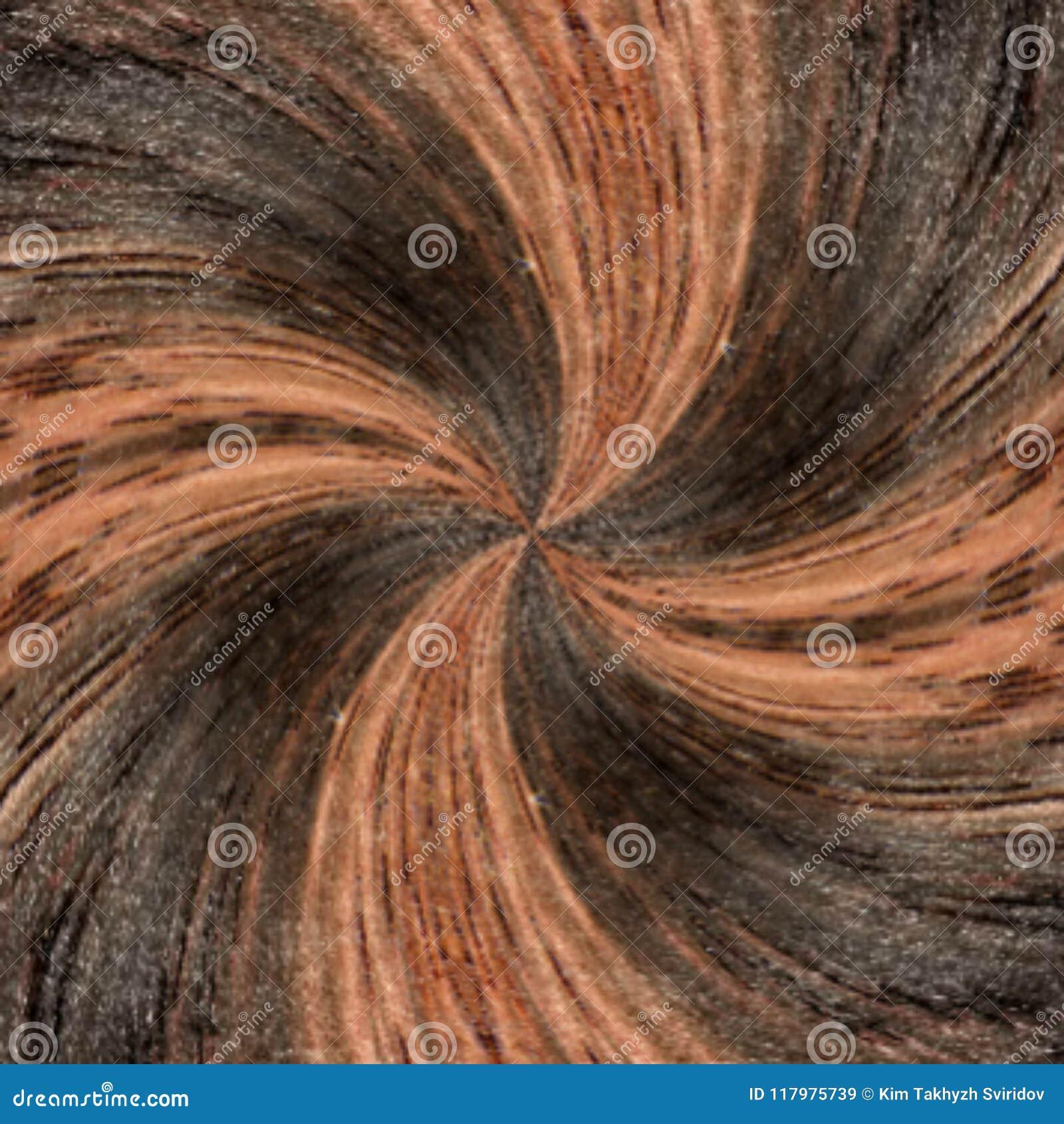 3D Illustratie Abstract beeld van een houten oppervlakte van een boom