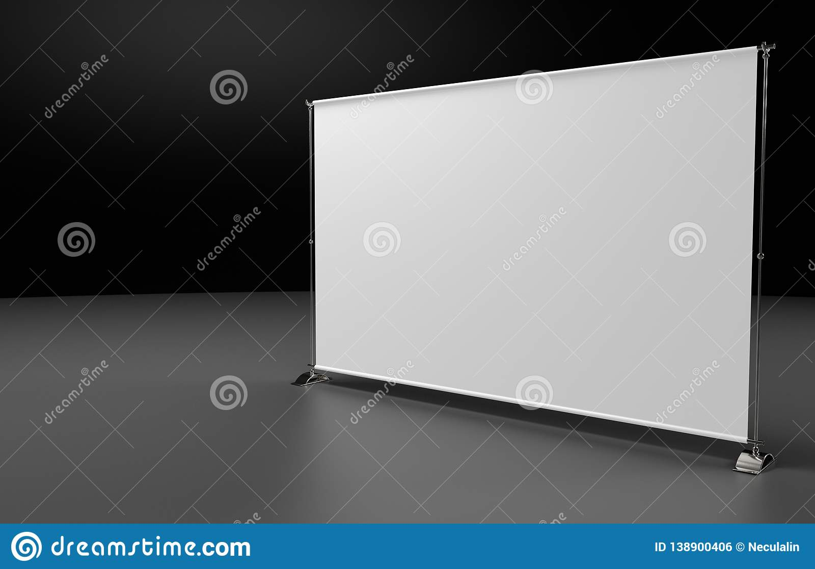 Advertisement exhibition stand for promotion