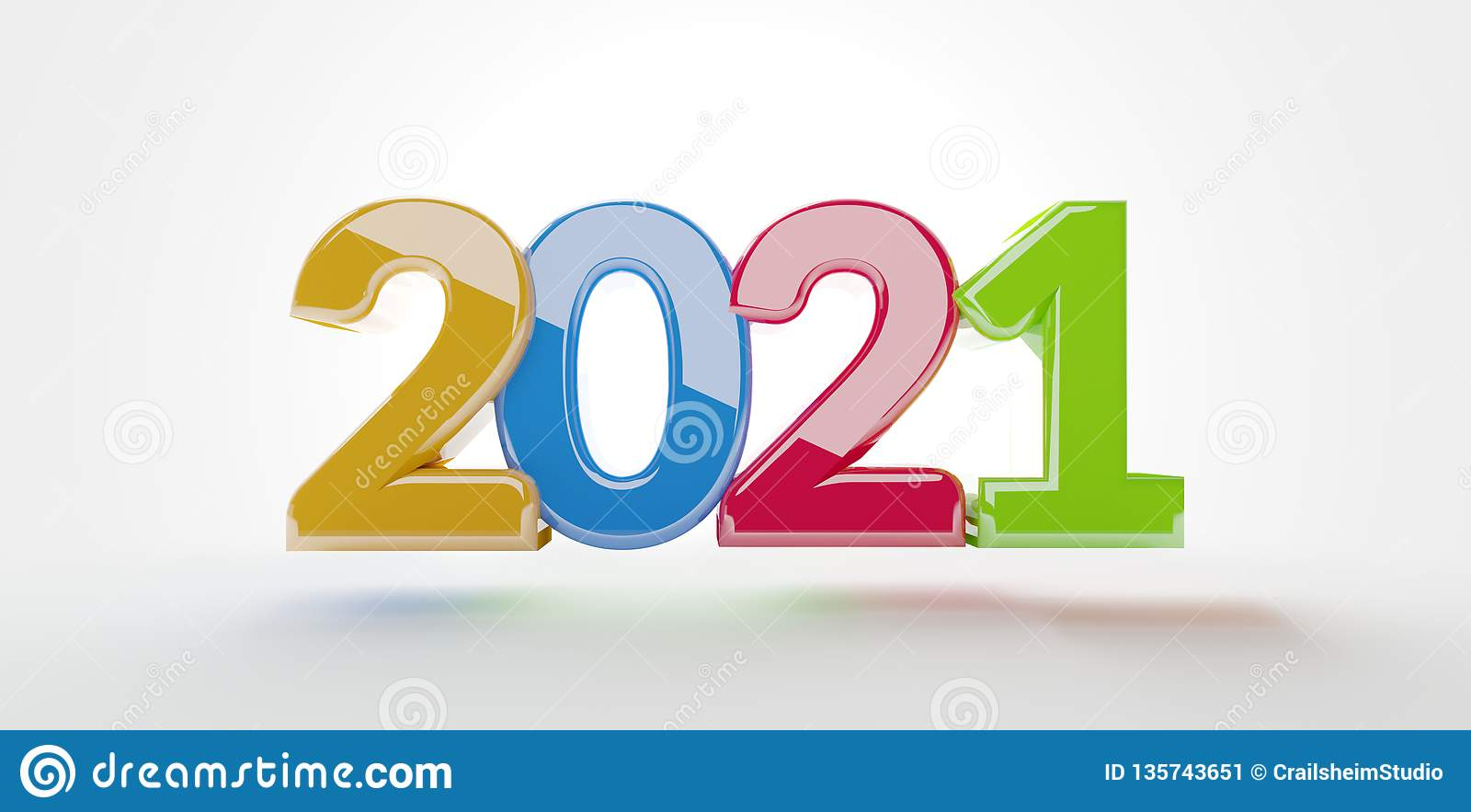 2022 3d illustration Graphic Image Stock Illustration