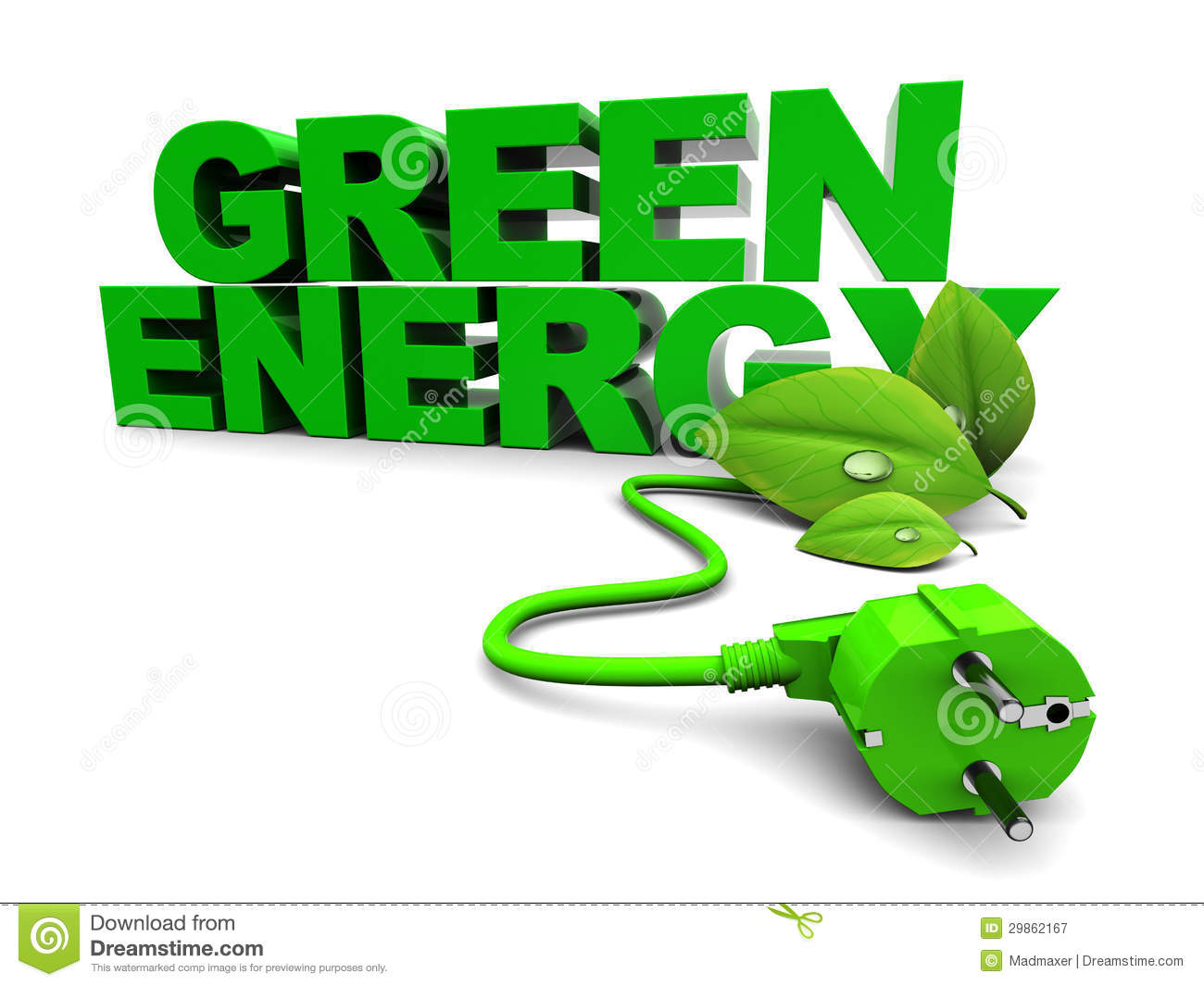 Green Energy Royalty Free Stock Photography - Image: 29862167