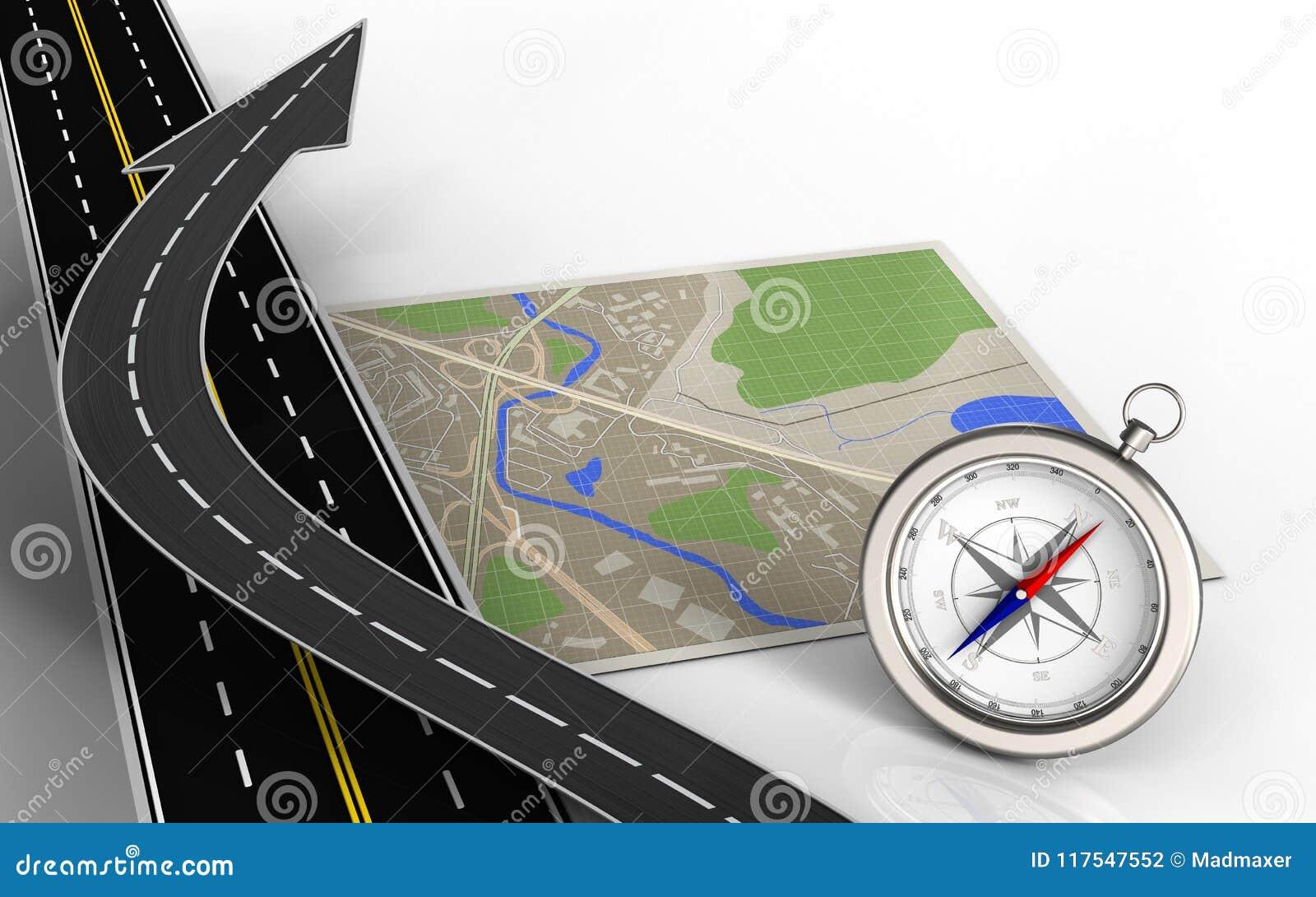 3d asphalt road stock illustration  Illustration of city - 117547552