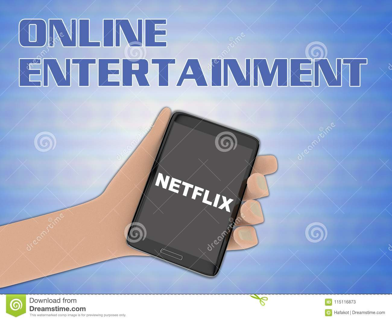 NETFLIX - Multimedia Concept Editorial Stock Photo - Illustration of
