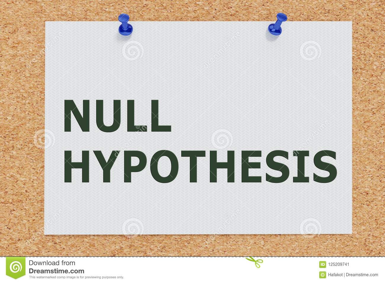 NULL HYPOTHESIS concept