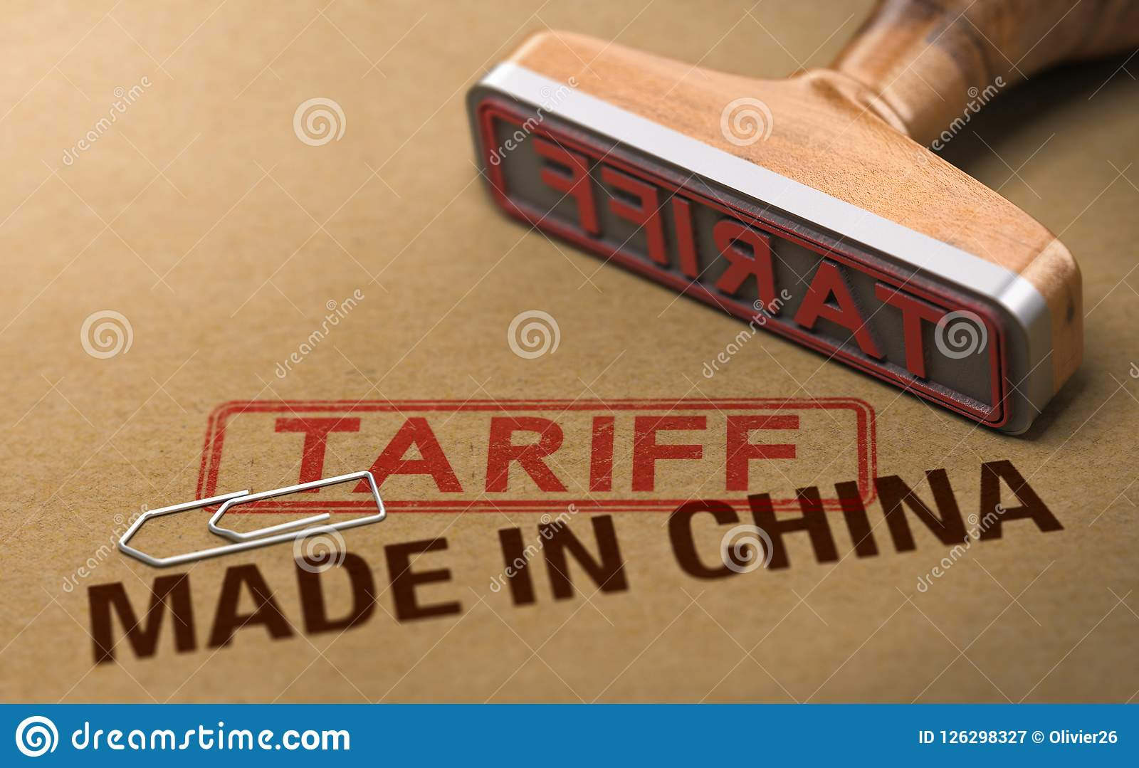 Trade War, Tariff For Goods and Products Made in China