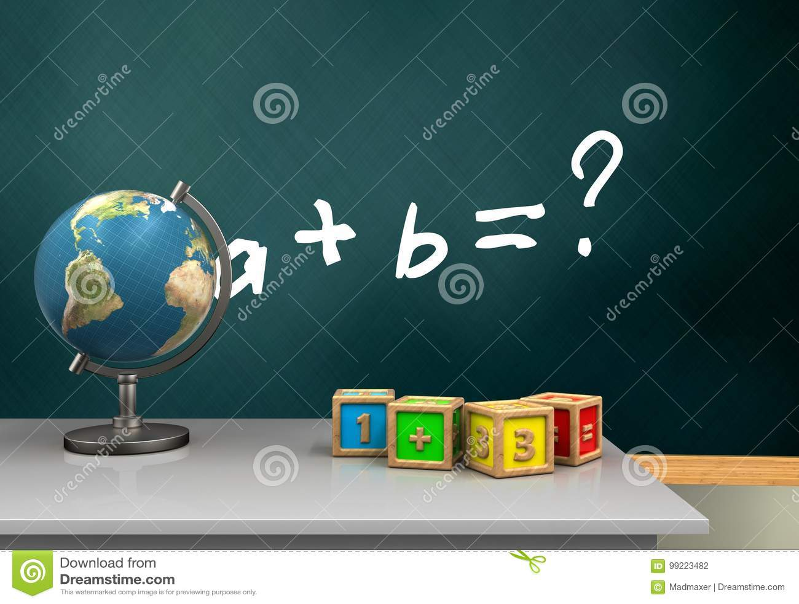 3d math cubes stock illustration. Illustration of algebra - 99223482
