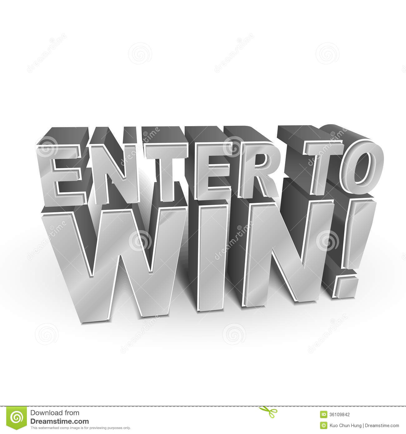 enter to win stock photos images pictures images 3d illustration of the words enter to win stock photography