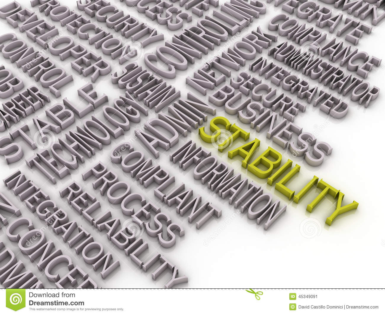 3d Imagen Stability Co... Word Stability