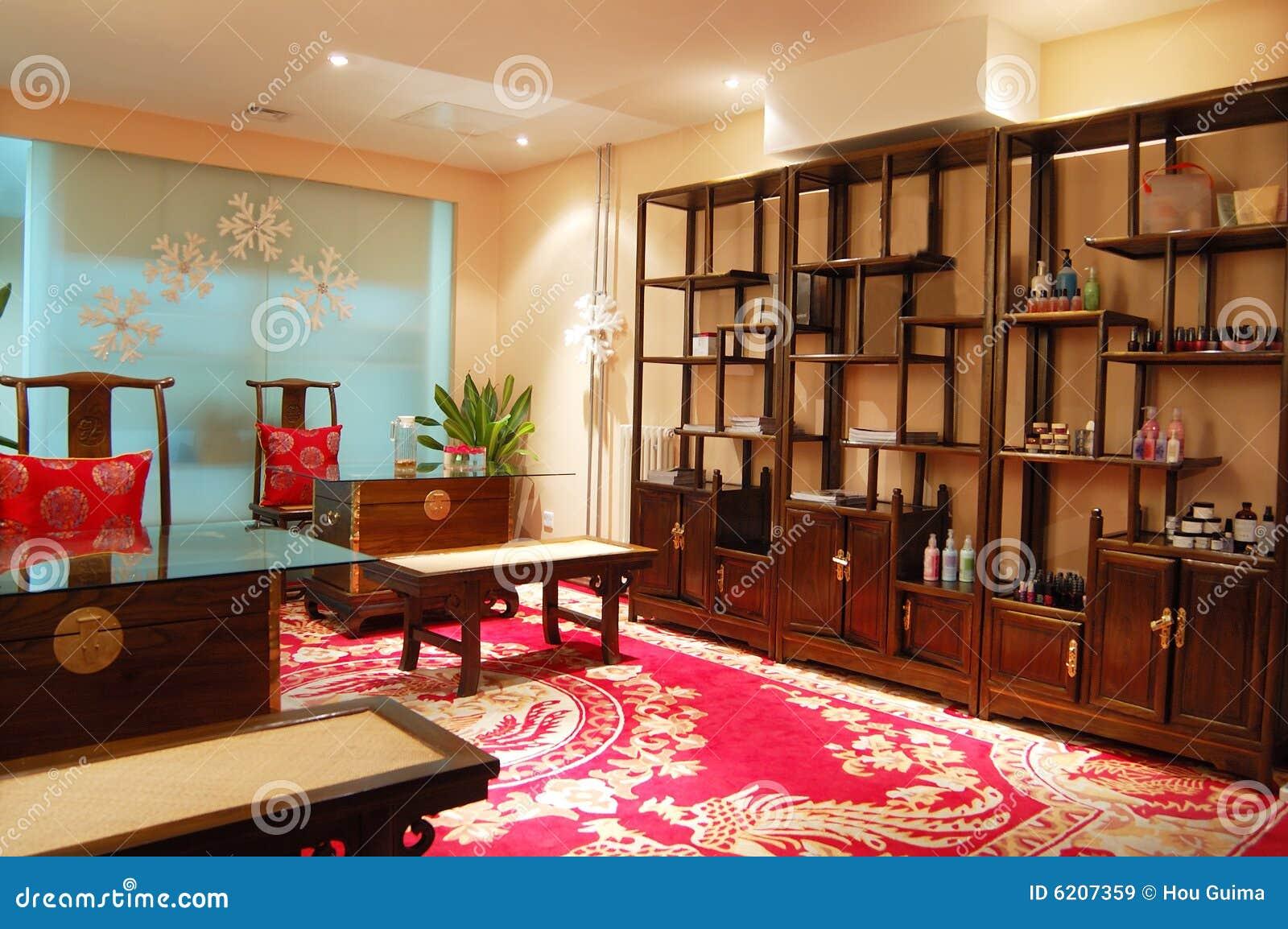 D Int Rieur Chinois De Meubles Mis Image Stock Image Du  # Meuble Copie Chinois