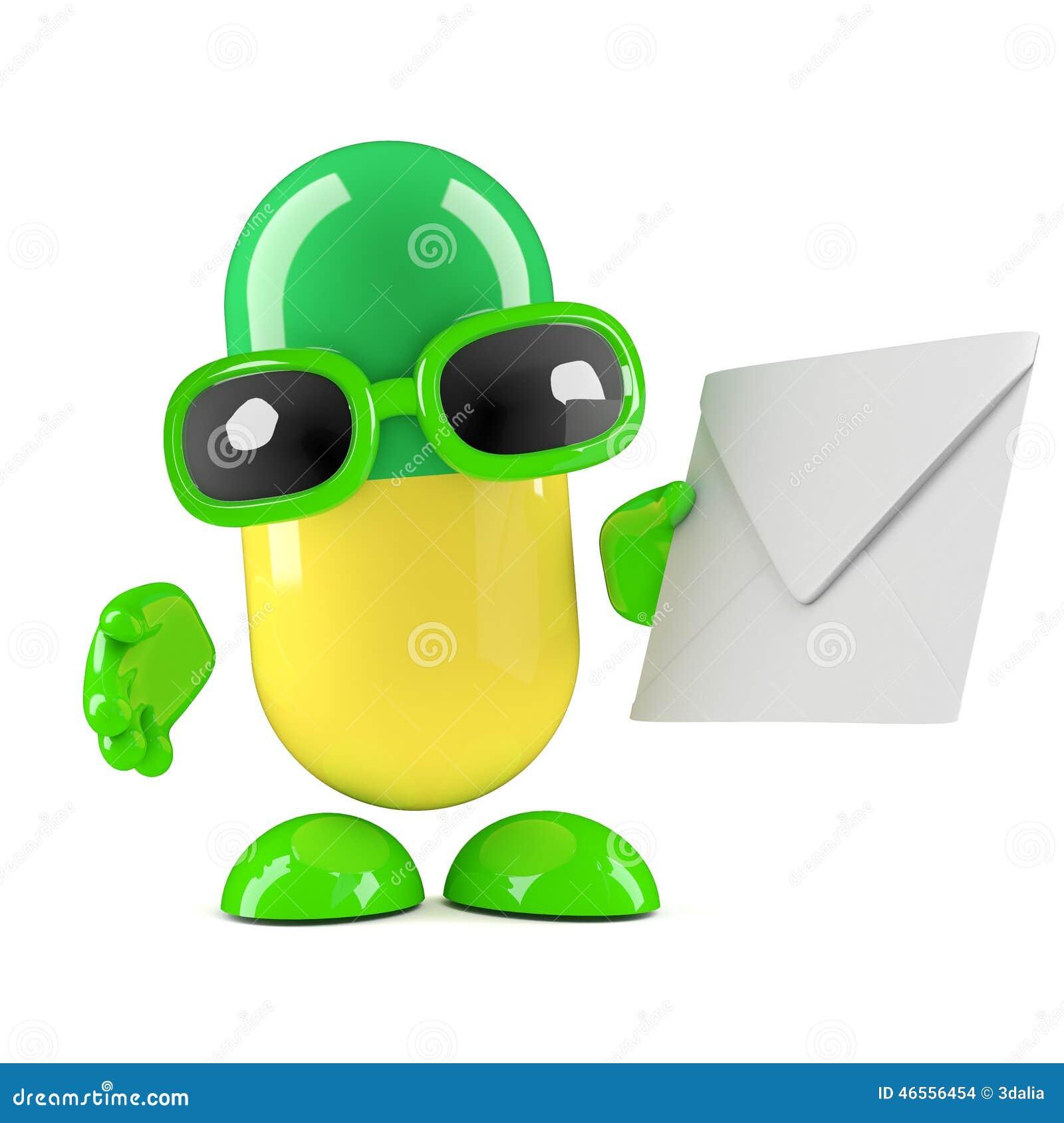 3d kapsuła poczta