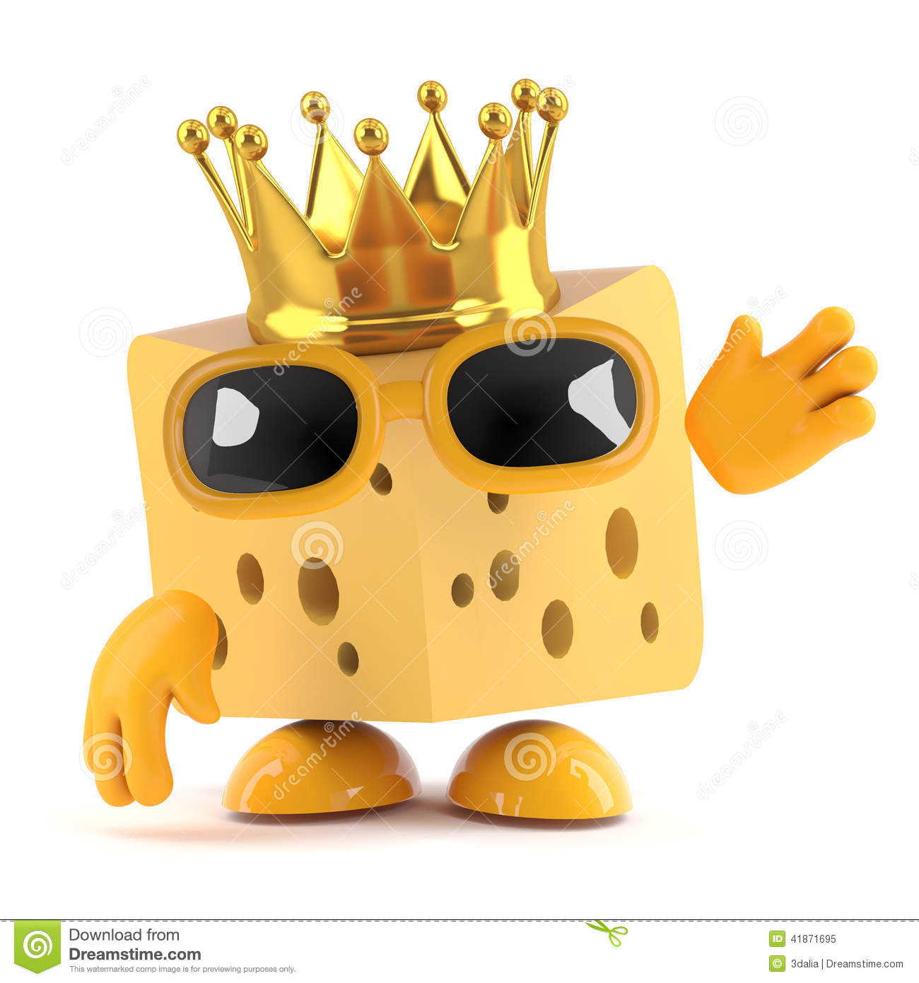 3d King cheese