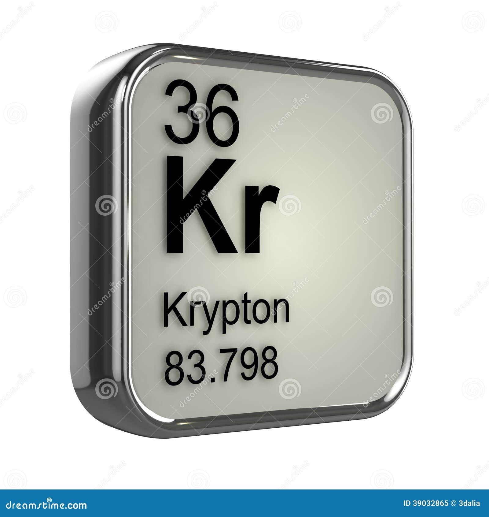 3d krypton element stock illustration image of atomic 39032865 royalty free stock photo gamestrikefo Images