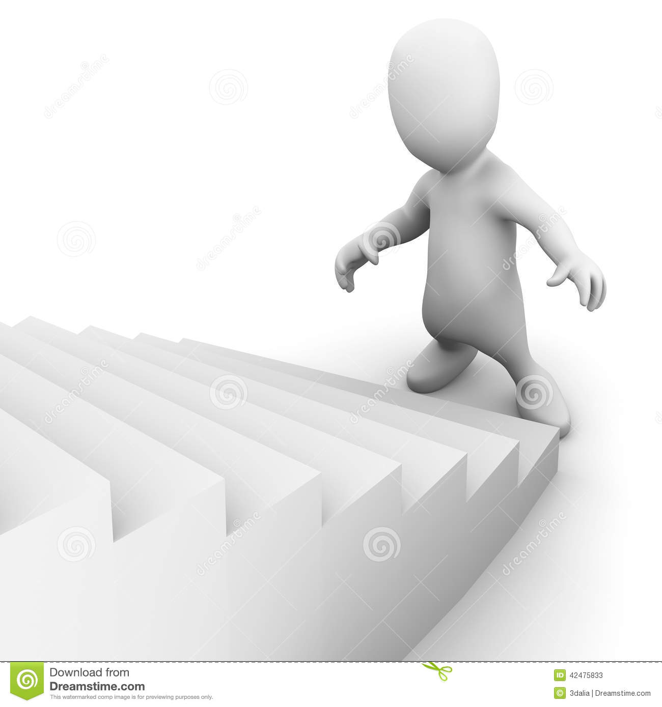 Little Person Diagram Wiring Detailed Stair Anatomy Drawing Elements Parts Illustration 3d Man Looks Up The Stairs Stock Top View