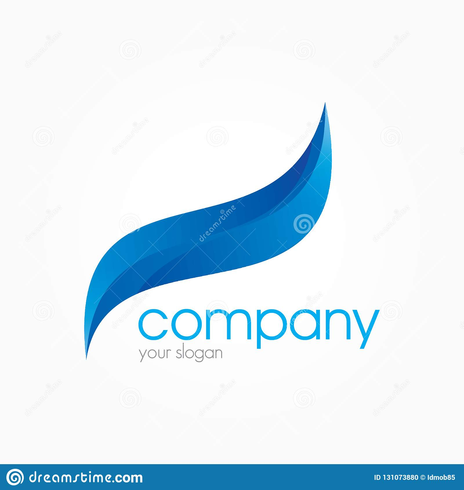 3D Logo Business Design Ideas Stock Illustration ...