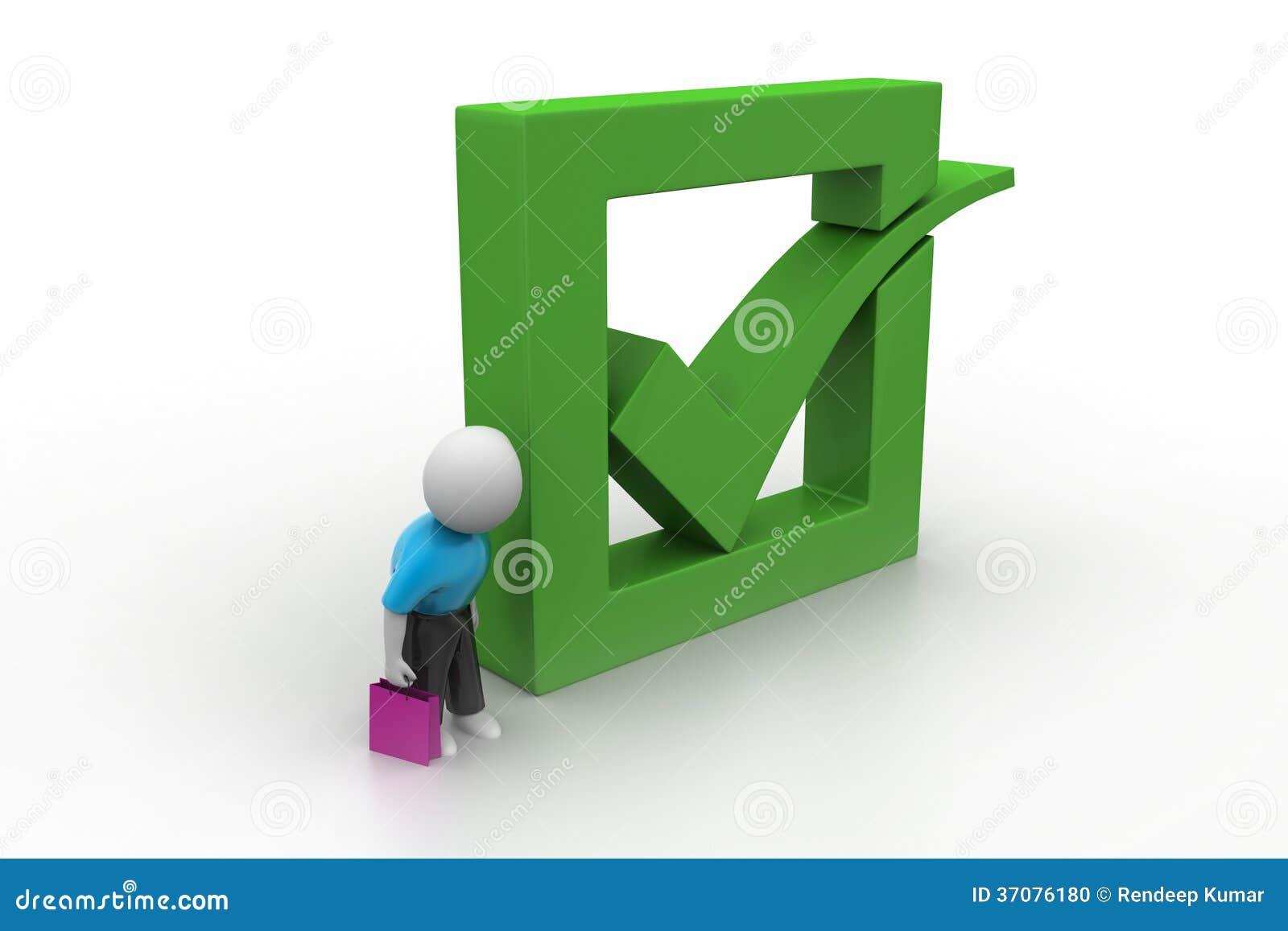 Download 3d Mężczyzna Seansu Zieleni Czeka Ocena W Pudełku Ilustracji - Ilustracja złożonej z pojęcie, robić: 37076180