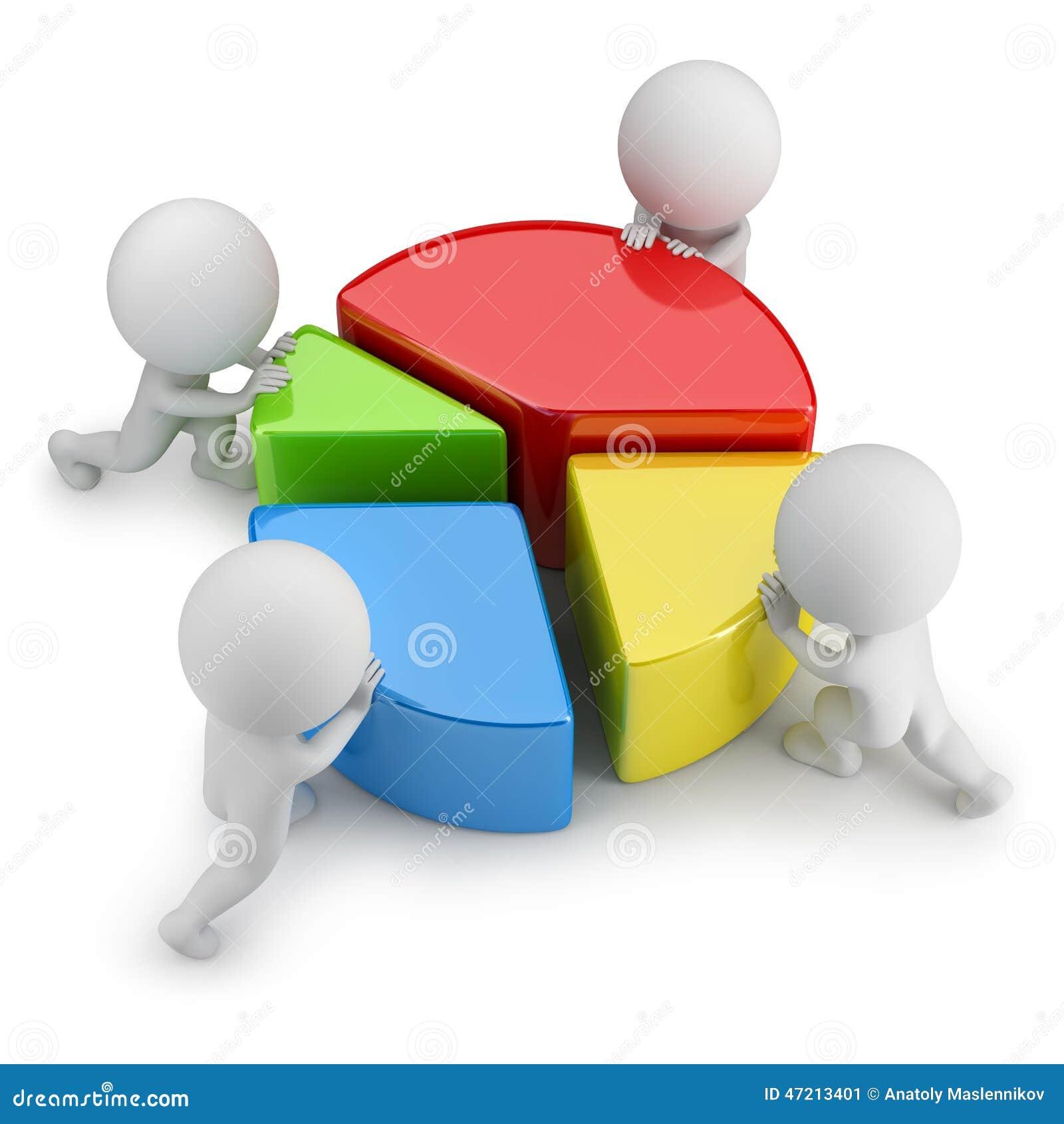 3d mali ludzie - prac zespołowych statystyki
